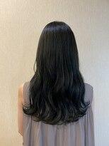 ヴィサージュプラス(VISAGE plus)#暗髪#透明感#オリーブカラー