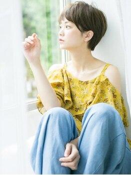 クレス 戸田店(CLESC')の写真/【デザイナーカット¥3024】大人可愛いをショートで再現♪髪質を活かしたデザイン提案で朝のお手入れも簡単!