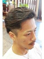 ディスパッチヘアー 甲子園店(DISPATCH HAIR)刈上げアシメパーマ