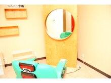 髪の駅 ぷれいすの雰囲気(半個室状態で他のお客様の視線が気にならない!(町田成瀬ヘナ))