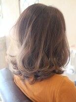【30代・40代】ふわっとミディアムヘア