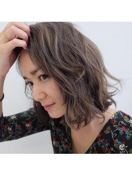 ヘアデザイン ダブル(hair design Double)の写真/アディクシーカラーを導入!話題のケアブリーチを使用して最小限のダメージで外国人風カラーが楽しめます!