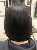 コレットヘア(Colette hair)縮毛矯正でまとまるボブ