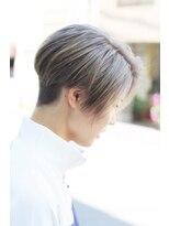 個別対応型髪質改善サロン 2ブロックハンサムショート