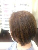 ヘアー カラー キー(HAIR color KEY)明るい白髪染め×ハイライト