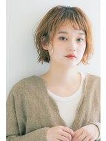 リル ヘアーデザイン(Rire hair design)【Rire-リル銀座-】小顔☆斜めバングパーマボブ☆