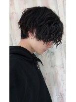 アクシー 渋谷店(AXY)cut3600axy渋谷齋藤グランジミディアムスマートマッシュ