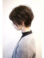 ドロワー(Drawer..)《美シルエット》スモーキーマット×ショートヘア