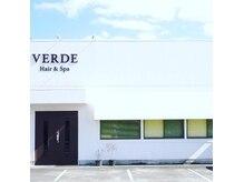 ヴェルデ(VERDE)の雰囲気(MEGAドンキ三方原店から浜松駅方面に直進して白い建物が目印☆)