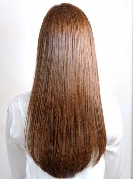 """グラン(grand)の写真/ワンランク上の艶髪に。""""高濃スチーム""""×『KERASTASE』で髪の芯まで栄養がしっかり浸透して美髪が手に入る"""