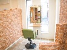 恋する毛髪研究所 立石 ラボ(立石 labo)の雰囲気(半個室の空間で周りの目を気にせずリラックス♪)