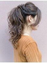 ヘアセットアンドメイクアップ シュシュ(Hair set&Make up chouchou)ふわふわポニーテール★