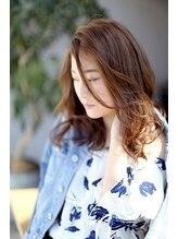 ヘアーラウンジ アンフィ 井土ヶ谷(Hair Lounge Anphi)【Anphi井土ヶ谷】クールに見えるラフなやわらかウェーブ