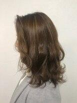 ポッシュ 原宿店(HAIR&MAKE POSH)ハイライト×アッシュブラウン