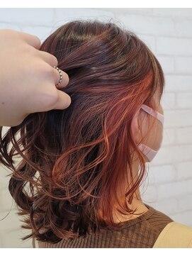 ビス ヘア アンド ビューティー 西新井店(Vis Hair&Beauty)インナーカラー/イヤリングカラー/フェイスフレーミングカラー