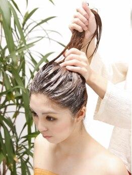 シェルジュ 綱島店(Cierge)の写真/≪メンズにも☆≫頭皮をじっくりマッサージ♪心までリラックスできる上質な時間をご提供します◎