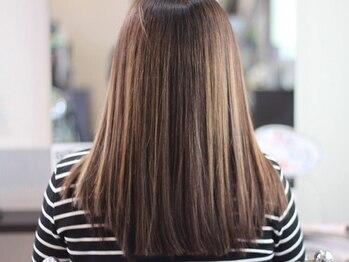 リーフ(Leaf)の写真/【武蔵浦和徒歩1分/髪質改善】厳選されたオーガニック薬剤で、髪へのダメージを気にせず綺麗な仕上がり◎