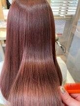 ループス 自由が丘店(Loops)【髪質改善カラー】ピンクベージュ