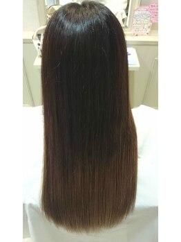 シュ シュ 銚子店(chou chou)の写真/毎日忙しい&髪のクセやうねりが気になるそんな方にオススメ☆艶のあるさらさらヘアーでセットを楽に♪