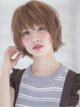グラッド ナチュラル ヘアー(glad NATURAL HAIR)【glad】 シンプルで無造作なショートスタイル☆