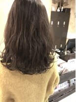 【UniQ・小笹】ブリーチなし+アディクシーカラー+ラベンダー