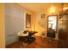 プラハ美容室(plaha)の雰囲気(スパ専用スペース。個室なのでくつろぎの時間に最適です、)