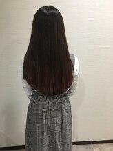 ヘアーサロングランデ 高円寺(hair salon Grande)ピンク系グラデーションカラー