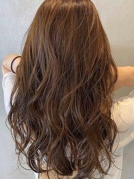 ジュノ(JUNO)の写真/《阪神西宮駅2分/口コミ評価◎》ボリュームや顔周りを調整したカット×上質カラーで雰囲気のある女性に!