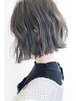 マックスビューティーギンザ(MAXBEAUTY GINZA) ☆波打つ切りっぱなしグレージュボブ☆髪質改善/銀座