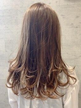 レザボア ヘアーアンドビューティー ハイブ店(reservoir Hair&Beauty Haibe)の写真/専属カラーリスト在籍!1人1人に合わせたカラーをご提案します♪ハイライトやダブルカラーなどもお任せ★