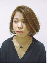 エムタニグチオーブ(M.TANIGUCHI o.r.b)COOLでCUTEなショートボブ
