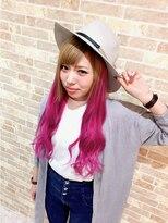 Pink Gradation Style