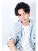 リップスヘアー 銀座(LIPPS hair)『恋髪』オールバックパートスパイラル