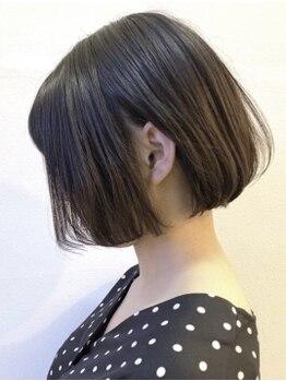 ハナイ ヘアーデザイン(HANAI hair design)の写真/自然で柔らかな上質ストレートをダメージレスで実現☆指通りなめらかな感動の仕上がりを体感!