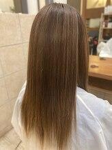 【髪質改善】シャンドラストレート♪柔らかくサラサラな髪質に☆