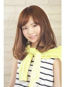 美容室キャンパス 土崎店の写真/学生さんにも大人気☆プチプラで可愛くオシャレな、求めていたスタイルに♪