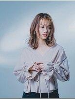 ラッドヘアー(LAD HAIR)【LADHAIR】ミディアムレイヤー パーマスタイル