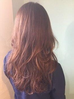 グラムヘアー(glam hair)の写真/明るくキレイに染まる―。しっとり触りたくなる、天然由来成分のOrganicカラー♪【パッチテストできます】