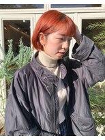 チカシツ(Chikashitsu)orange bob