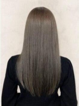 美容室 サボイ 高崎店(SAVOY)の写真/自分史上最高のサラ艶髪☆こだわり抜いた薬剤で、理想のストレートヘアへ♪