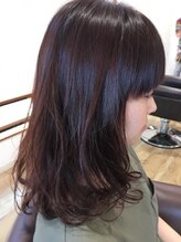 ヘアーガーデンリプレイ(Hair Garden REPLAY)秋カラー イロドリピンク