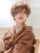 【RAWR】無造作パーマ_メンズライク_カーリーショート