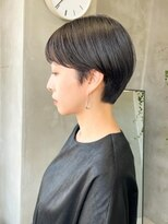 テトヘアー(teto hair)似合わせ大人ショートヘアマッシュショート黒髪ショートボブ