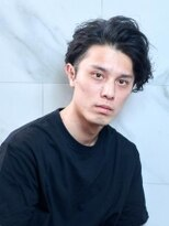 オーブ ヘアー カルネ 松戸店(AUBE HAIR carnet)【AUBE HAIR】かき上げ前髪×パーマ