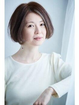 アズヘアー 北野田店(A'z hair)の写真/≪A'z hair≫が得意なハイライトやインナーカラーでトレンドデザインを実現!白髪が気になる方にも☆