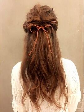 ヘアーメイク ミューズ 二条店(Hair make MUSE)ハーフアップ☆