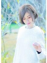 オゥルージュミュゼ(Aurouge)【aurouge musee 林碧】グレージュカラー×ふんわり美形ボブ