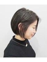 エイム ヘアメイク 横川店(eim HAIR MAKE)かっこかわいい☆ハンサムミニボブ