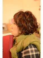 ポタム 東中野(potamu)濡れ髪ショートウェーブ