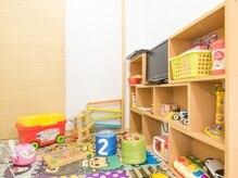 美容室こころの雰囲気(キッズスペース有♪お子様が大好きなおもちゃもご用意しています)